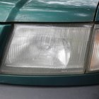 Get a showroom shine from your old headlights after removing the clear coat.
