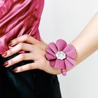 DIY Fabric Flower Corsage