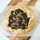 Homemade Kale and Sausage Galette