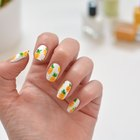DIY Pineapple Nail Art