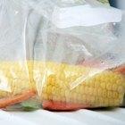 Cómo congelar vegetales crudos