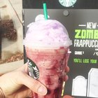 Starbucks' Zombie Frappuccino Has a Scary Amount of Sugar