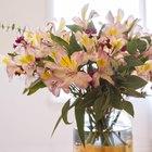 Cómo hacer un florero alto para centros de mesa florales