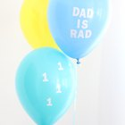 DIY Balloon Decals for Father's Day