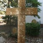 How to make wooden cemetery crosses