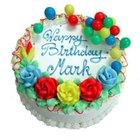 Cómo decorar una torta de cumpleaños para hombres