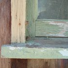 How to fix peeling paint on a window sill