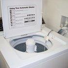 Cómo desmontar una lavadora Kenmore