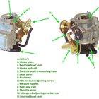 How a 2-stroke carburetor works
