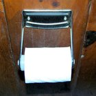 Where to install a toilet paper holder