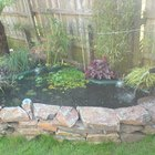 The best way to stop a preformed pond from overflowing