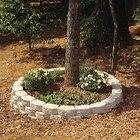 Cómo construir una jardinera exterior circular de ladrillo