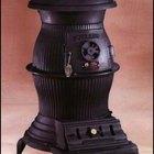 Cómo dar terminación a una estufa de hierro fundido Pot Belly