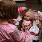 Como fazer comida de mentirinha para a boneca Baby Alive