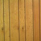 Qué hacer con las paredes cubiertas de madera anticuadas
