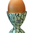 Instrucciones para un hervidor de huevos al microondas