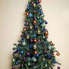 Formas de limpiar árboles de Navidad artificiales