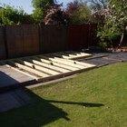 Cómo hacer una terraza de madera a nivel del suelo