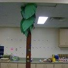 How to make a life-size palm tree
