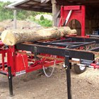 How to build a firewood processor
