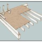 Cómo construir un piso de madera elevado
