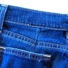 Cómo ajustar la cintura de un par de pantalones de mezclilla