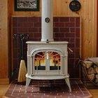 Cómo construir un hogar para una estufa a leña