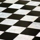Cómo pintar una habitación en blanco y negro como un tablero de ajedrez