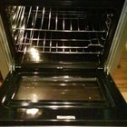 DIY oven steam cleaning