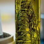 Cómo infundir aceite de oliva con romero
