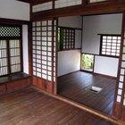 Cómo construir una casa tradicional japonesa