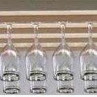Cómo hacer sostenedores de copas de vino de madera