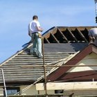 Cómo instalar un borde de goteo en un techo