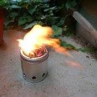 Cómo hacer una estufa de aserrín