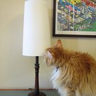How to make a lining for a lampshade