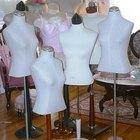Cómo tapizar con tela un maniquí de vestido