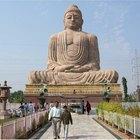 As posturas de Buda e os seus significados