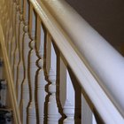 How to paint stair banisters & railings