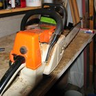 How to Change the Chain on a Chainsaw