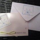 O que escrever em um cartão de agradecimento pelo comparecimento a um chá de panela?