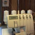 Instrucciones para usar una máquina para coser overlock