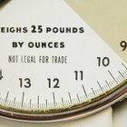 How to read a weighing scale