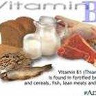 Foods containing vitamin b