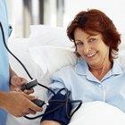 Symptoms of low blood pressure in the elderly