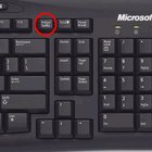 How to use the print screen button