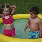 Cómo mantener limpia una piscina inflable