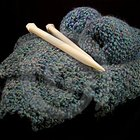 How to knit a throw