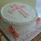 Cake decoration ideas for baptism