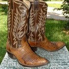How to stretch tight lizard cowboy boots