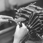 How to put rods in for a perm